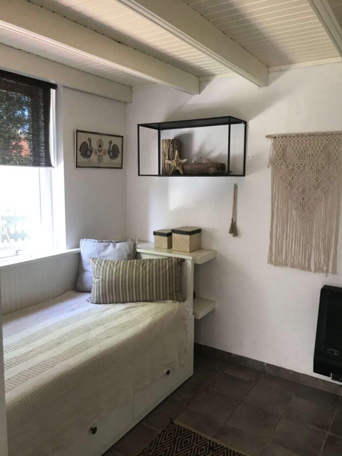 Nieuwe slaapkamer van het huis